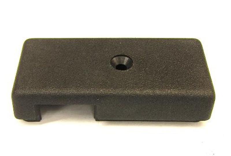 Abdeckung Blinkerschalter Vespa PX alt ( schwarz
