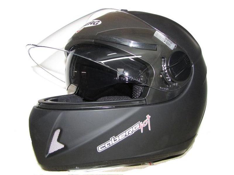 Helm Integral Caberg / Matt-schwarz / Gr. L = 59-60