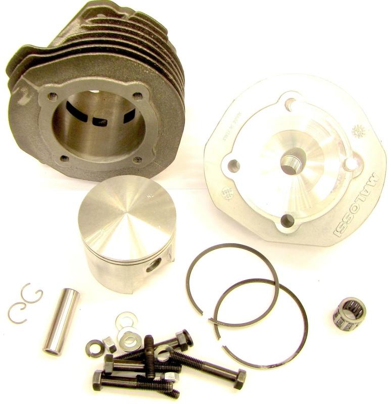 Zylinder Sport / Malossi 112ccm / V50-PK / D= 57,5