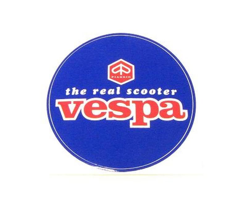 Aufkleber VESPA / D= 80mm