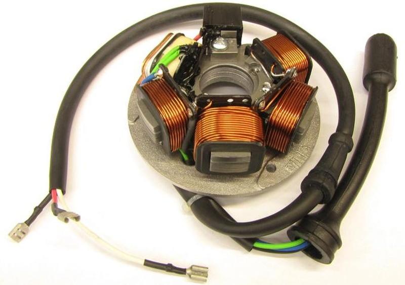 Zündgrundplatte - Lichtmaschine / Vespa PK-XL-APE