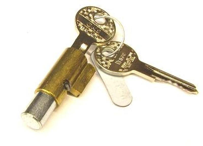 Schließzylinder - Neiman / Lenkradschloss 10mm Bolzen rund