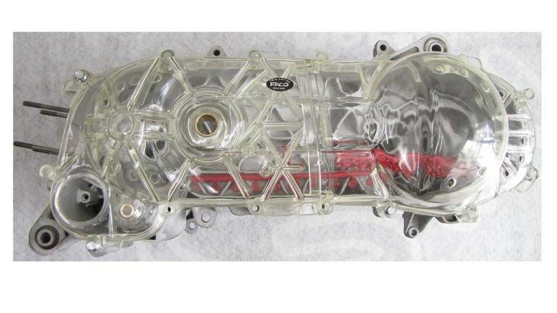 Variator deckel Transparent Minarelli Motoren Kurz