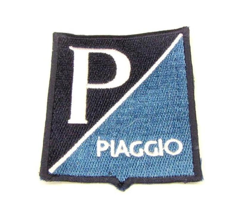 Aufnäher Piaggio Old Emblem / 79 X 66mm