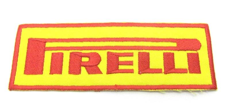 Aufnäher Pirelli / 130 x 45mm