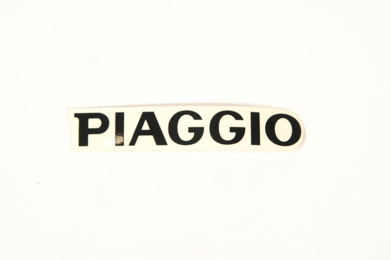 Aufkleber PIAGGIO schwarz...et4 etc.