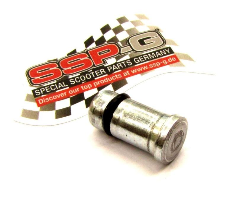 Stopfen Ölpumpenloch Vespa PX Lusso-/ Stahl mit O-ring
