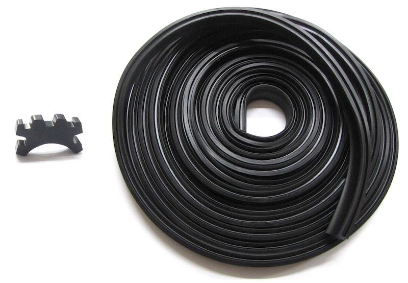 Gummi Set für Trittleisten Vespa 125 VMA/GT/GTR/TS/150Sprint