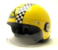 Jet Helm / A-Style / Moto Yellow / größe L